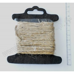 CORDON DE JUTE 2,5 mm x 5 m