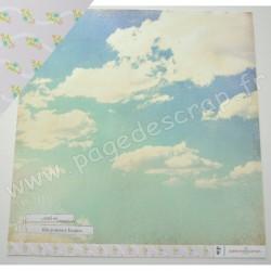 WEBSTER'S PAGE - OUR TRAVEL - JOURNEY BEGINS   30,5 cm x 30,5 cm