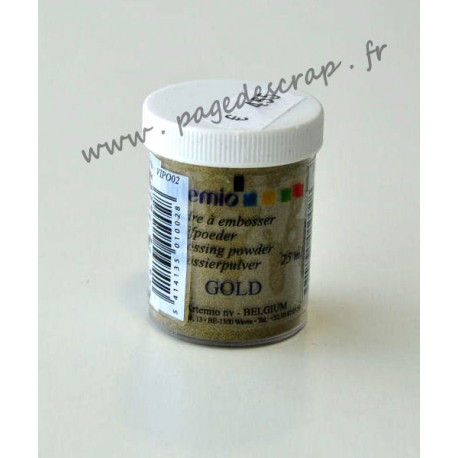 POUDRE RELIEF GOLD