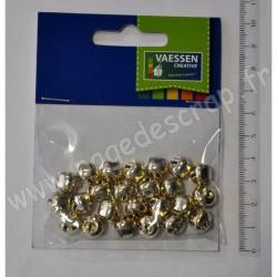 GRELOTS OR 10 mm  24 pièces
