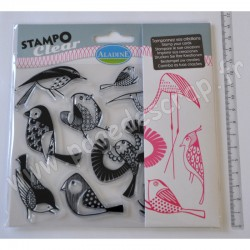 ALADINE STAMPO CLEAR OISEAUX