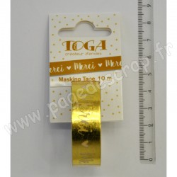 TOGA MASKING TAPE MERCI OR 10 m