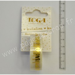 TOGA MASKING TAPE INVITATION OR 10 m