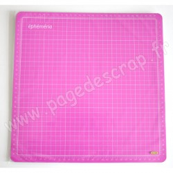 EPHEMERIA TAPIS DE COUPE ROSE 30 cm x 30 cm