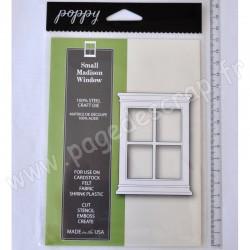 POPPYSTAMPS SMALL MADISON WINDOW CRAFT DIE