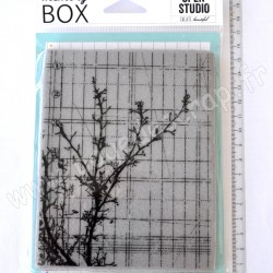 MEMORY BOX SKETCH JOURNAL CLING STAMP