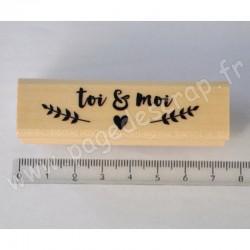 SWIRLCRADS TAMPON BOIS TOI & MOI