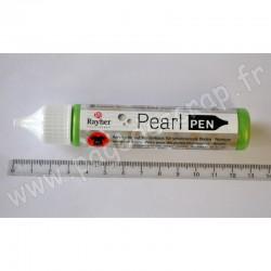 RAYHER PEARL PEN VERT peinture acryl. à base d'eau pour des perles chatoyantes