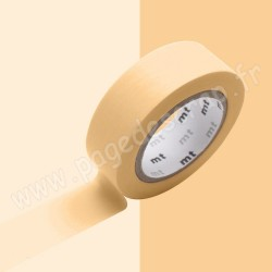 MT MASKING TAPE PASTEL ORANGE 15mm x 10m