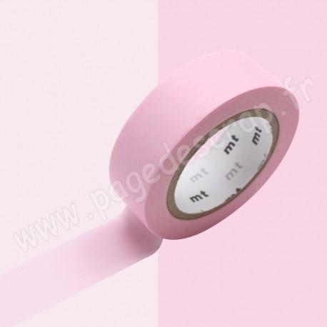 MT MASKING TAPE PASTEL ROSE 15mm x 10m