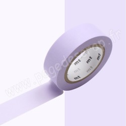 MT MASKING TAPE PASTEL VIOLET 15mm x 10m