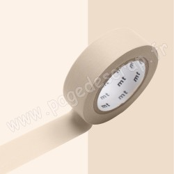 MT MASKING TAPE PASTEL MARRON 15mm x 10m