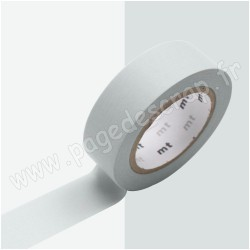 MT MASKING TAPE PASTEL GRIS 15mm x 10m