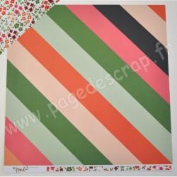 MME ON TREND 2 VIVID PAPER 30.5 cm x 30.5 cm