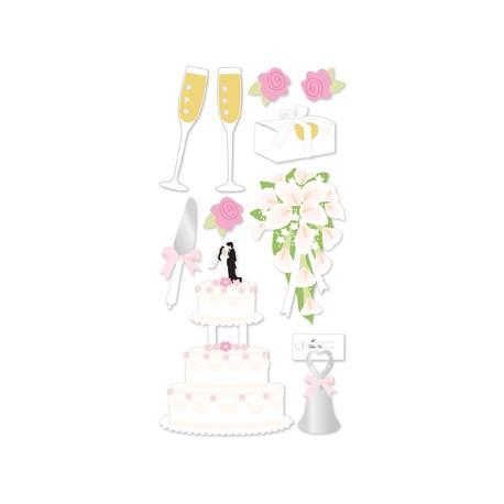 ESSENTIALS STICK WEDDING CAKE