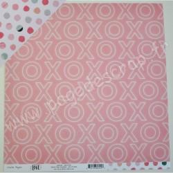 CRATE PAPER HELLO LOVE SMITTEN 30.5 cm x 30.5 cm