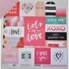 CRATE PAPER HELLO LOVE LOTS OF LOVE 30.5 cm x 30.5 cm
