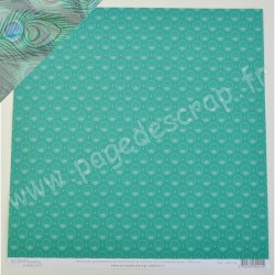SCRAPBOOKING ADDICT COLLECTION NATURE PAON 30.5 cm x 30.5 cm