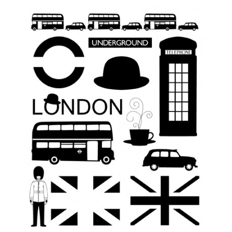 TAMP TR LONDON MODERN  PLANCHE A5
