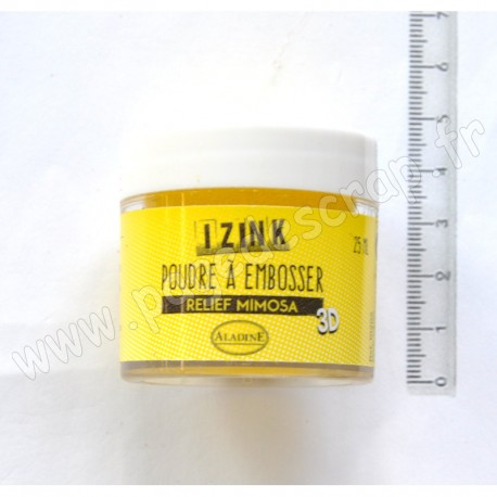 ALADINE POUDRE A EMBOSSER 25 ml  MIMOSA