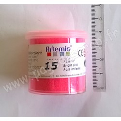 ARTEMIO SABLE COLORE N°15 ROSE VIF 40gr