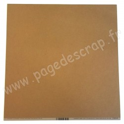 BAZZILL PAPIER CLASSIC DARK KRAFT 30,5 cm x 30,5 cm