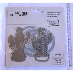 DIY & Cie DIE DUO CACTUS 2 outils