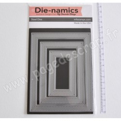 DIE NAMICS DIE STITCHED RECTANGLE FRAMES