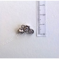 SCRAPBERRY'S CHARMS MOTORCYCLE  SILVER 17 x 10 mm