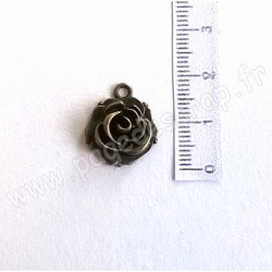 SCRAPBERRY'S CHARMS ROSEBUD 14 x 18 mm