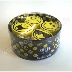ALADINE STAMPO KDO SMILEY 4 tampons + 1 encreur