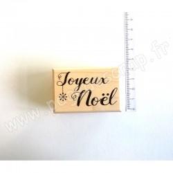 ALADINE TAMPON BOIS NOEL JOYEUX NOEL
