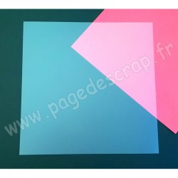 LAURA PACK PAGE PRIPLAK OPALINE GIVRE 30 cm x 30 cm