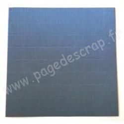 MAHE ONDULE ARGENT 30 cm x 30 cm 120 gr