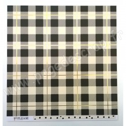 MY MIND'S EYE YES PLEASE PLAID PLEASE 30.5 cm x 30.5 cm