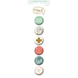 MME OT SWEET FLAIR BUTTONS
