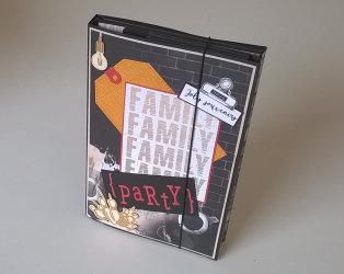 mini album scrap