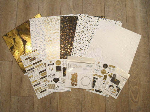 swirlcards collection reflet d'or