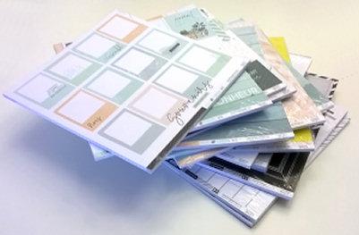 florileges design en toutes lettres soft et green papier