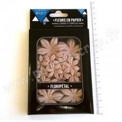 FLORILEGES DESIGN FLORIPETAL FLEURS EN PAPIER FIL DE LIN 40 pièces