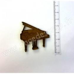 PDS SUJET BOIS PIANO A QUEUE COLLECTION MUSIQUE