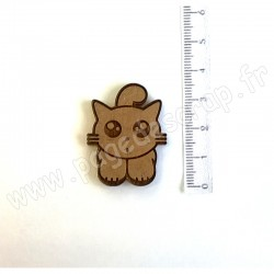 PDS SUJET BOIS MR CHAT  COLLECTION ANIMAUX
