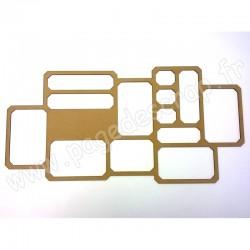 PDS CADRE BOIS DESTRUCTURE HOME DECO 60 cm x 30 cm