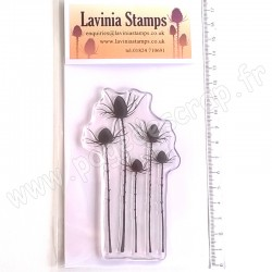 LAVINIA TAMPON CLEAR SILHOUETTE THISTLE