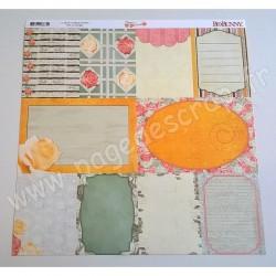BO BUNNY ARYIA'S GARDEN NOTES 30.5 cm x30.5 cm