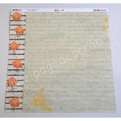 BO BUNNY ARYIA'S GARDEN POETRY 30.5 cm x30.5 cm