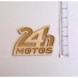 PDS SUJET BOIS FIN 1 mm 24H MOTOS COLLECTION 24H MOTO