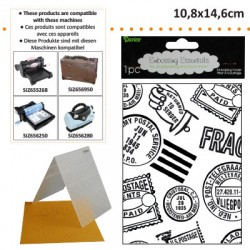 EMBOS TEMPLATE 10.8X14.6CM TRAVEL