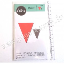 SIZZIX FRAMELITS DIE LITTLE BUNTING 2 outils