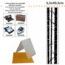 EMBOS TEMPLATE 6.5X30.5CM TRUNKS